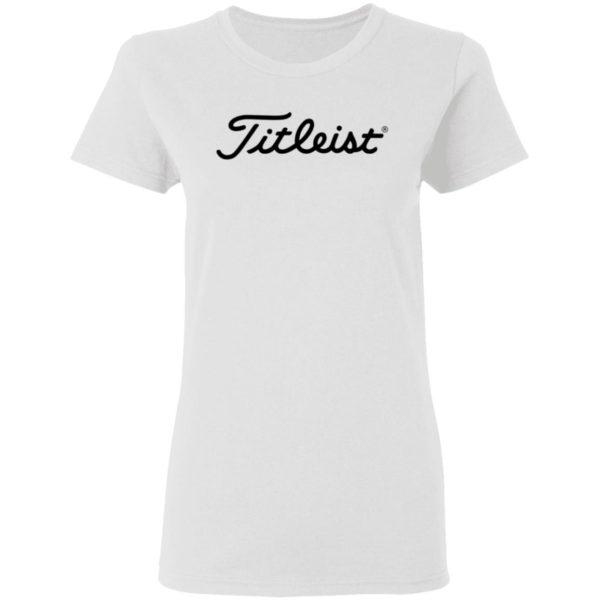 Titleist Shirt Titleist Golf Titleist T Shirts
