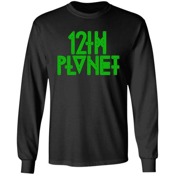 12th Planet Logo Hoodie 12th Planet Hoodies Sweatshirt 12th Planet Logo Hooded Sweatshirt