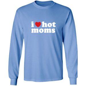 Danny Duncan Merch I Heart Hot Moms Long Sleeve Danny Duncan T Shirts Hoodie Sweatshirt Danny Duncan I Heart Hot Moms Long Sleeve