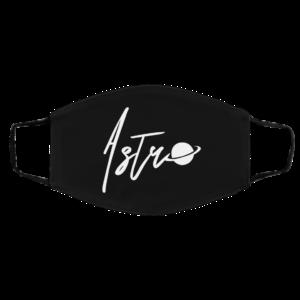 Astro Stuffs Logo Face Mask
