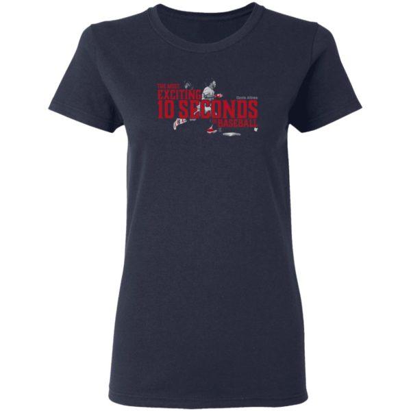 10 Seconds Ozzie Albies T Shirt BreakingT