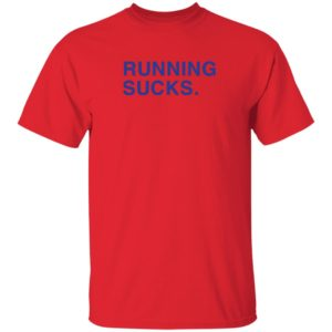 Alex Ovechkin Running Sucks Shirt Barstoolchief