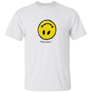 Paramore Merch Paramore Fake Happy Shirt