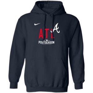 Atlanta Braves Atl 2021 Postseason Hoodie